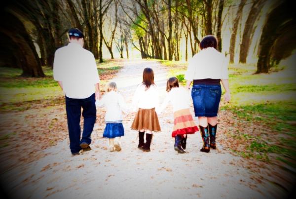 family-walk-post