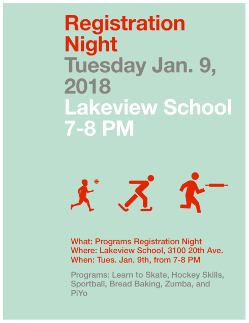 Registration night Jan 2018 poster